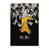NCCDY Filmposter Kill Bill Quentin Tarantino Uma Thurman,