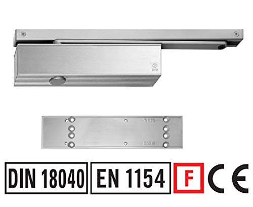 Türschließer TS-41 GSB mit Montageplatte u Gleitschiene Brandschutz zertifiziert