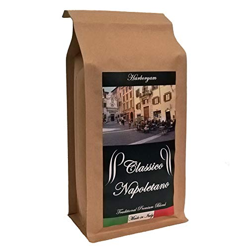 Ground Coffee - Classic Blend traditionally Made in Italy (0.5kg 1xbag)