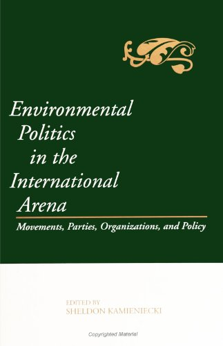 Environmental Politics in the International Arena: Movements, Parties, Organizations, and Policy (SUNY Series in Environ