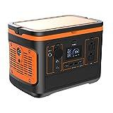Estacin de Energa Porttil 600Wh Generador Solar Porttil con Salida de CA/CC/USB/USB-C Generador Electrco Solar de Emergencia para acampar al aire libre emergencias de RV / 600W