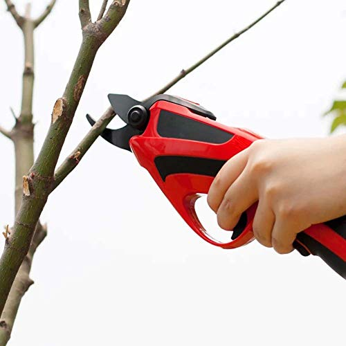 Find Bargain Electric Secateurs, Branch Cutter, Garden Lopper, Hedge, Trees, Branches & Twigs Shears...