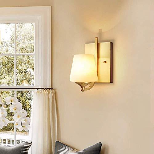 Mkjbd wandlamp tuinlamp wandlamp wandlamp wandlamp wandlamp wandlamp wandlamp wandlamp spiegel Amerikaans koper wandlampen