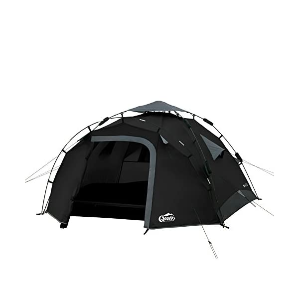Qeedo Quick Pine 3 Man Dome Tent (Quick Up System) 1