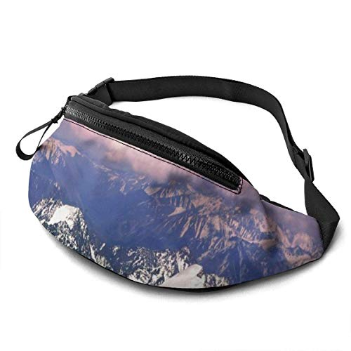 FengLiuAiShuaiGe Pochette de Hanche Everest Fanny Pack Fashion Waist Bag,