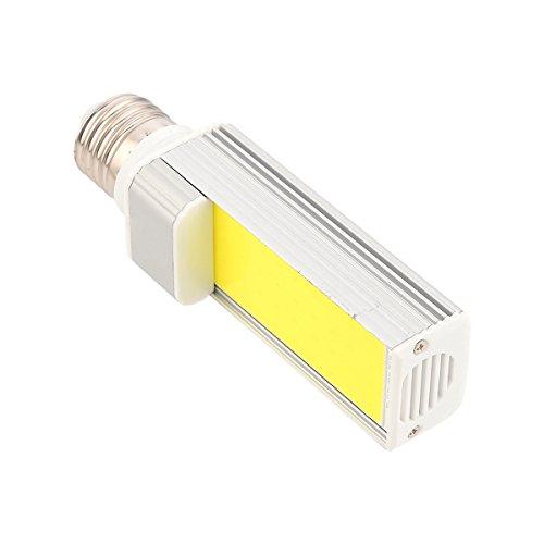 YEZIN Bombilla LED Tipo maíz para Interior, Exterior, E27 / E26 COB 8W 600-750LM Blanco Fresco cálido LED Luz de maíz LED Luz de Enchufe Horizontal (AC 85-265V) (Size : Warm White)
