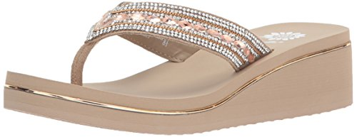Yellow Box Women's Marcy Sandal, taupe, 9.5