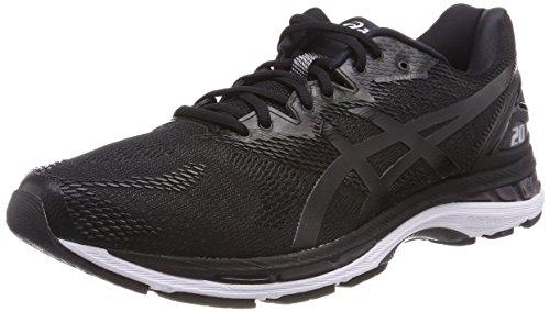 Asics Gel-Nimbus 20, Zapatillas de Running para Hombre, Negro...