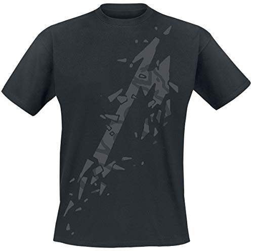 Metallica M - Black Album Uomo T-Shirt Nero XL 100% Cotone Regular
