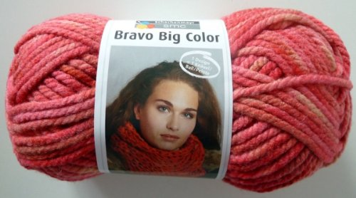 Schachenmayr Bravo Big Color 082 peach blossom 200g Wolle