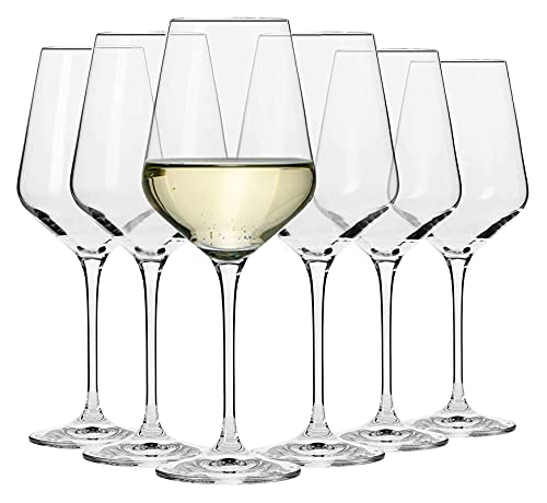 Copas de vino Un juego de seis copas de vino soplado a mano, conjunto de copa de vino blanco, conjunto de copa de vino tinto, conjunto de cristal de cristal rojo de plomo, copas de vino de bodas, copa