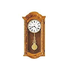 Howard Miller Lambourn Ii Oak Wall Clock Golden Oak Dimensions: 14.5 W X 5.75 D X 28 H Weight: 17 Lbs