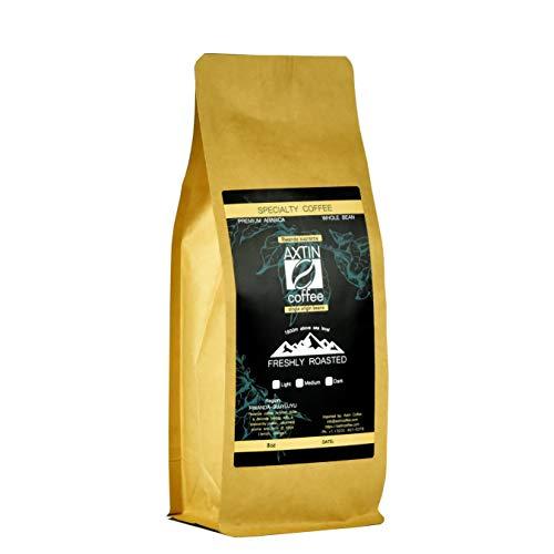 African Rwanda Coffee, Whole Beans Single Origin, Medium Roast 8oz   227g