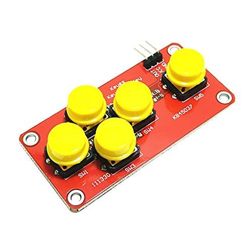 Homyl Electronic Block AD Analog Keyboard Tastenfeld Modul Für Arduino Module Elektronikmodul