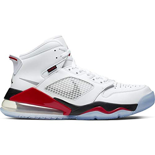 Nike Jordan Mars 270 [CD7070-100] Men Basketball Shoes White/Silver-Red/US 10.5