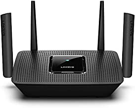 Linksys AC2200 Smart Mesh Wi-Fi Router for Home Mesh Networking, MU-MIMO Tri-Band Wireless Gigabit Mesh Router, Fast Speeds up to 2.2 Gbps, coverage up to 2,000 sq ft, up to 20 devices (MR8300)