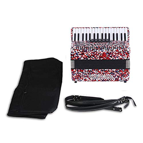 5. Acordeón QING.MUSIC Keyboard instrument | Un instrumento carnavalero.