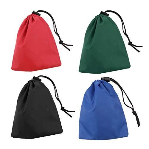 4 pedazos mini bolso de viaje de portátil para reserva de acampar...