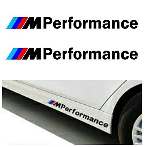M Performance Sticker BMW M Zwart