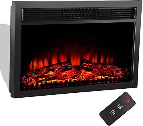 MATHROSE Electric Fireplace Insert 26
