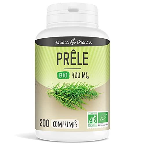 Herbes Et Plantes Prêle Bio 200 Comprimés 400 mg