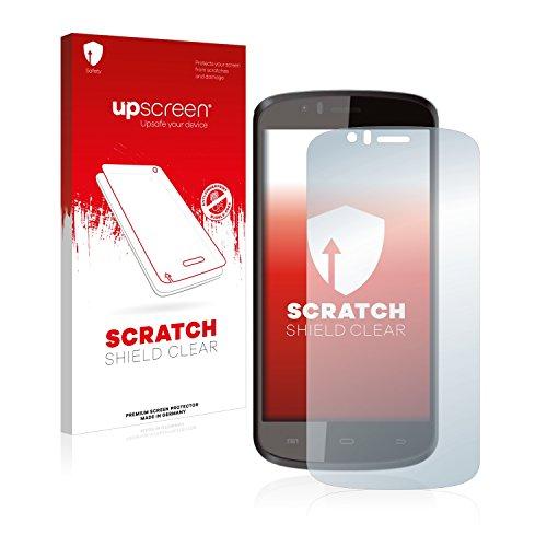upscreen Schutzfolie kompatibel mit Archos 50e Helium – Kristallklar, Kratzschutz, Anti-Fingerprint