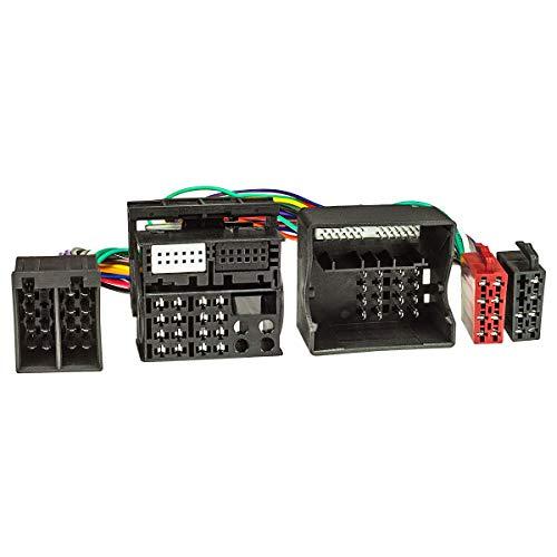 tomzz Audio 7304-002 T-Kabel ISO (40 Kabel) kompatibel mit BMW ab 2001 mit Quadlock zur Einspeisung von Freisprecheinrichtung ISO Verstärker für THB Parrot Dabendorf i-sotec Match