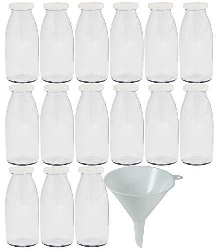 Botellas De Cristal Pequeñas 250 Ml Marca Viva Haushaltswaren