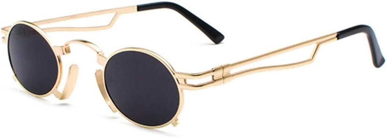 Fuqiuwei Sonnenbrillen Simple And Versatile Temperament Personality Glasses Retro Round Sunglasses Female Personality Sunglasses Small Face