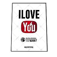 FASHION POSTER(ファッションポスター) B1(約73cm×100cm) ポスター(微光沢) ポスターのみ 可愛い かわいい ロゴ シンプル 白 赤 再生 デザイナー(yoko-poster-i002-b1B1biko)