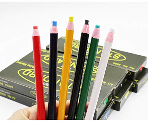 Sewing Mark Chalk Pencil Tailor's Marking and Tracing Tools Free Cutting Chalk Sewing Fabric Pencil...