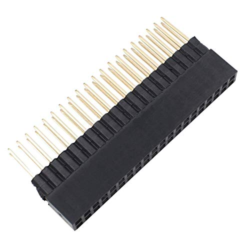 SB Components 2 x 20 Pins, extra hohe Buchse, 0,3 cm Pitch Stacking Header für Raspberry Pi A+, Pi Model B+, Pi 2, Pi 3 und Pi 3 B+ (5 Stück)