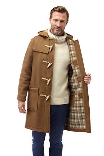Original Montgomery Dufflecoat Herren mit Holz Knebel, Größe 60, Camel