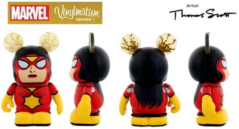 se descuenta MARVEL Series 1 SPIDER-WOMAN Disney Disney Disney Vinylmation 3'' Figura Comic Cute by Disney Vinylmation  punto de venta