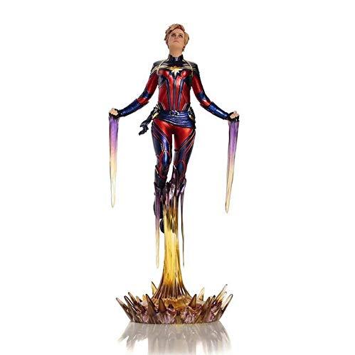 Capitã Marvel BDS Art Scale 1/10 - Avengers Endgame Iron Studios -