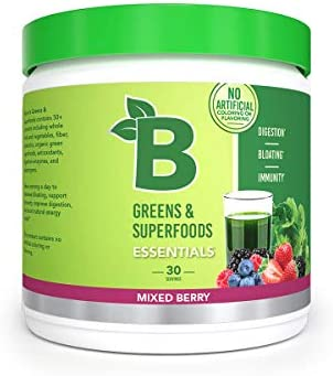 Bloom Nutrition Green Superfood Best Tasting Greens Powder Complete Whole Foods Organic Spirulina product image