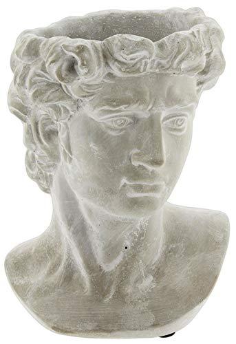 Greek Statue Head Cement Planter (9')