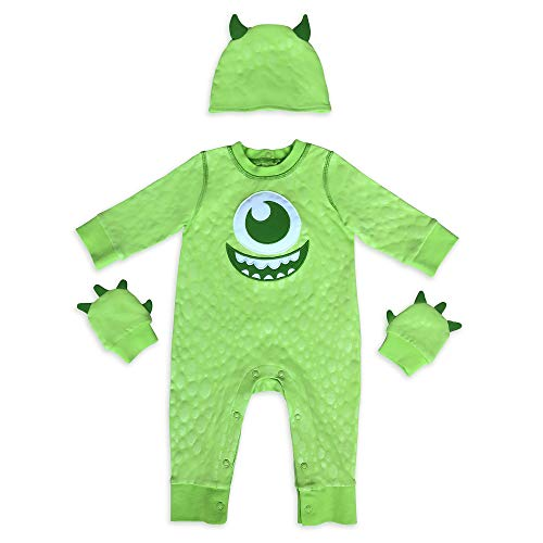 Disney Pixar Mike Wazowski Costume Romper for Baby – Monsters, Inc, Size 0-3 Months