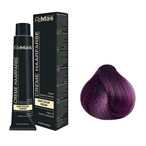 Femmas Hair Color Cream 100ml Haarfarbe (Pure&Mix Violett)
