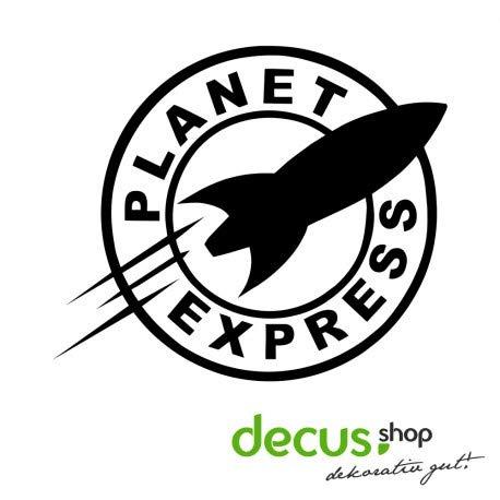 Decus Futurama Planet Express - Adesivo OEM JDM Style