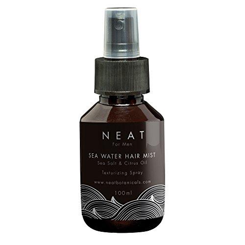 Meersalz Haarspray I Neat Sea Salt Haarpflege für Herren 100 ml I Textur & Volumen für Beach Waves Haare I Meersalz Spray I Salzwasserspray bio I Kokosnuss Extrakt für Glanz & Pflege