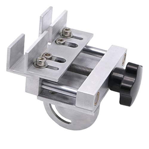 Huanyu Lijadora de banda micro Lijadora eléctrica de correa DIY 895/997 Herramienta de rectificado de cuchilla de motor (Accesorio opcional, Herramienta de ángulo fijo para afilar cuchillos)
