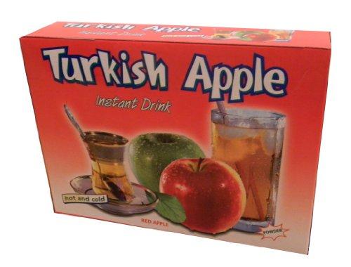 Türkischer Apfeltee Ottoman - roter Apfel - Instant Teegetränk Pulver 600g