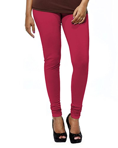 Go Colors Women's Fuchsia Churidar,XL