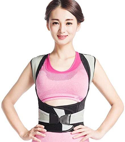 WSJF Houdingcorrector, instelbare rugriem, positie-corrector, voor mannen en vrouwen, schouder-steunriem, ondergoed, riem, shaper