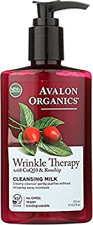 CoQ10 Facial Cleansing Milk By Avalon [251ml] | Prevents Wrinkles, Purifies, Hydrates & Supports Cellular Renewal Of Skin...
