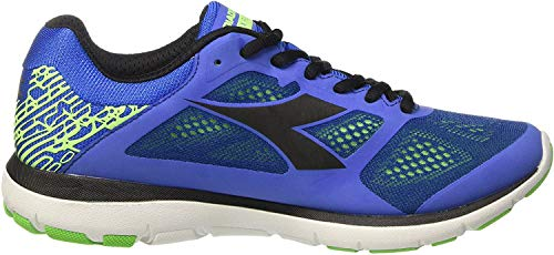 Diadora Herren X Run Laufschuhe, Blau (Azzurro/Nero), 45.5 EU