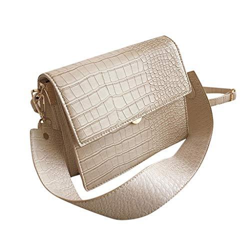 iHAZA Femmes Sac Messenger tendance tendance Sac à bandoulière en cuir de grande capacité