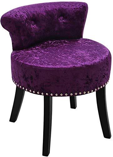 Dressing Tischhocker schlafzimmer ankleide Tischstuhl kleiner Raum Schlafzimmer, benutzt in der Zimmerlobby,Purple