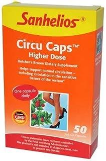 Circu Caps, Higher Dose, 50 Soft Gel Capsules - Sanhelios by Sanhelios